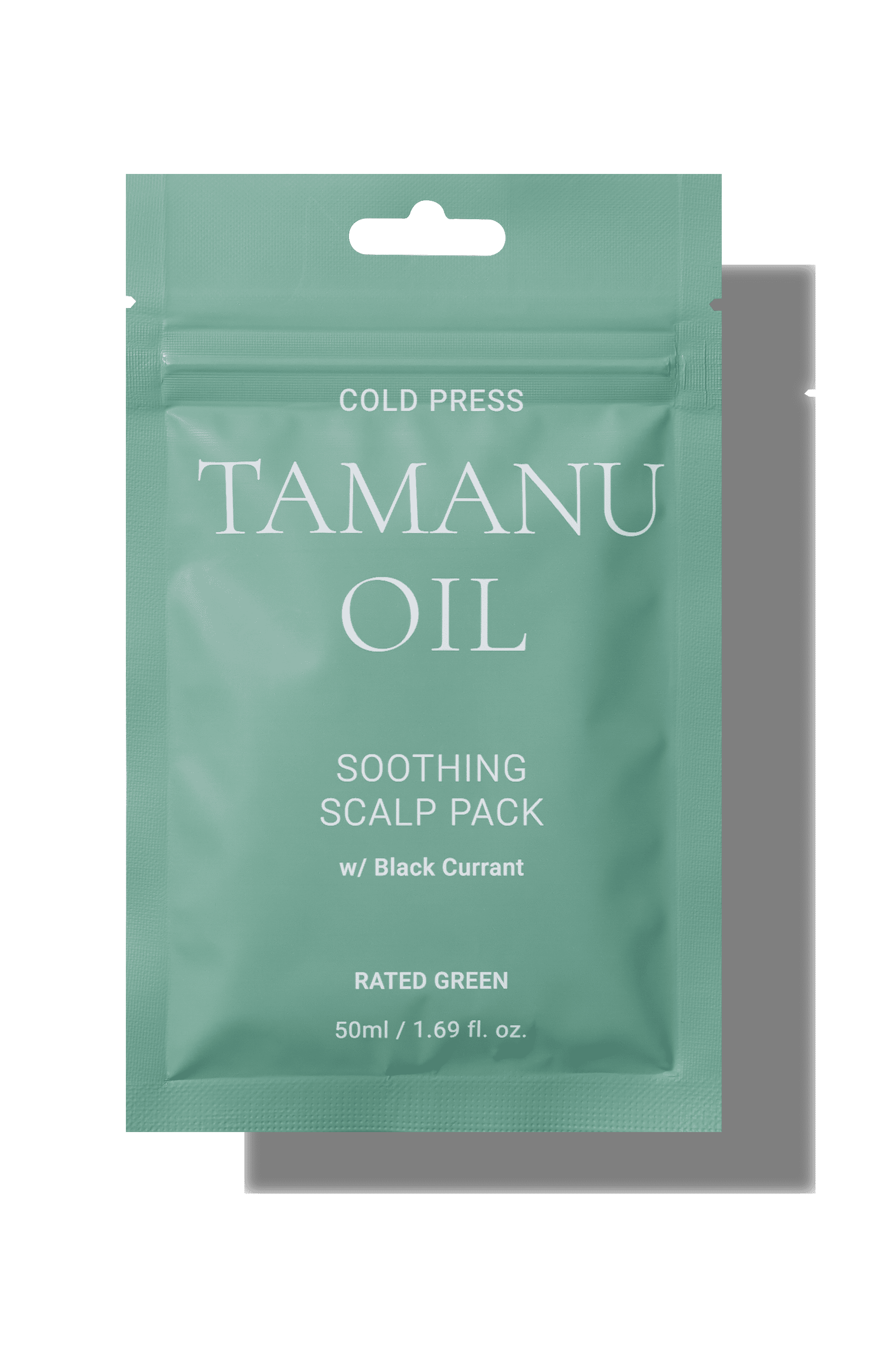 Cold Press Tamanu Oil Soothing Scalp Pack With Blackcurrant_Rated Green