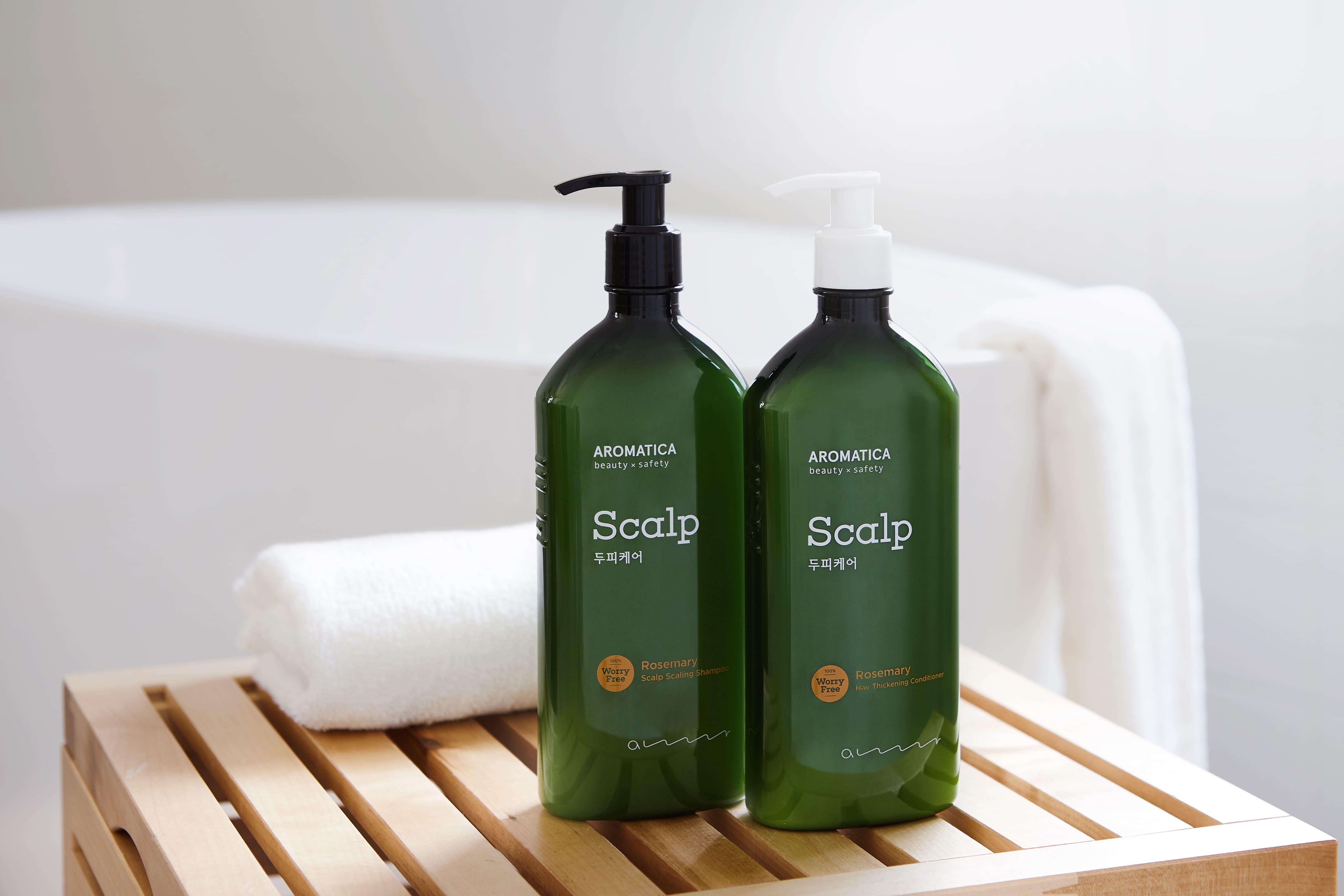 Rosemary Scalp Scaling Shampoo_Aromatica